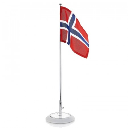 Bordflagg og 17.mai sløyfer